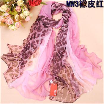 freeshipping Ultralarge measurement bd georgette silk scarf summer female scarf beach towel Scarves, beach towels, scarves