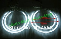 For BMW E53 X5 2000-2003 CCFL ANGEL EYES HALO RINGS bulbs lamps set kit - white