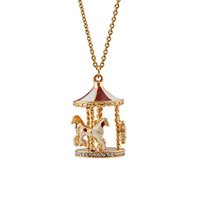 Fashion accessories alloy gold plated diamond oil beautiful necklace n091