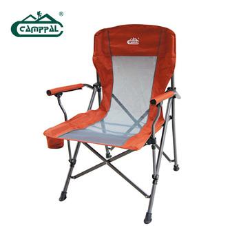 Quality camppal armrest chair beach chair outdoor folding furniture