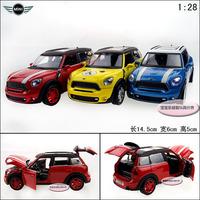 1:32 Mini  alloy acoustooptical countryman four door alloy car model free air mail