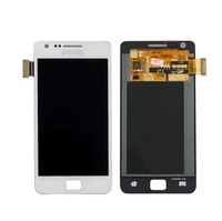 for Samsung Galaxy S2 S 2 SII I9100 LCD display screen with touch screen glass digitizer assembly free shipping  White