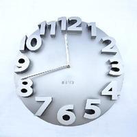 3D Big Digit Modern Contemporary Kitchen Office Home Decor Round Wall Clock