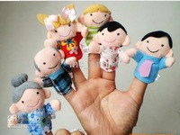 family Finger Puppets toys Puppets Baby Hand Puppet toy baby Finger doll Toy dolls