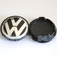 Hotselling Freeshipping 4pcs 65mm 3B7 601 171 VW POLO JETTA PASSAT Volkswagen Emblem Wheel Center Caps Covers