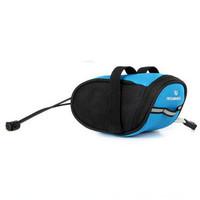 ROSWHEEL Bicycle  Accessories Bike Pouch Seat Tail Bag Cycling Saddle  Bag 600D Blue 15 cm x 7.5 cm x 7 cm