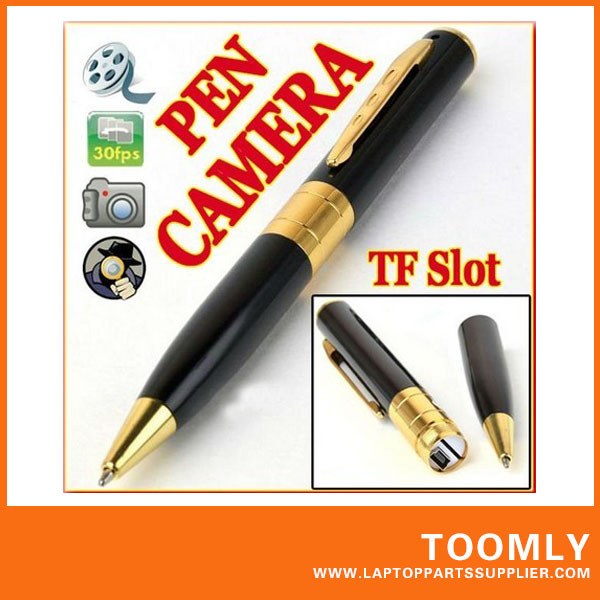 Pen Camera Hidden Digital Video Recorder Surveillance DVR DV Camcorder 26fps with TF card slot---- Free Shipping(China (Mainland))