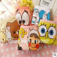 freeshipping 2013new Wholesale The cartoon cute comfortable underwear waist all cotton cotton panties girls/women
