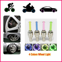 10pcs/lot High-quality Bicycle Car Motorcycle LED Wheel Light Tire Valve Wheel Spoke Light