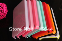 Fashion Color Sherbet Candy Hard Case Cover Skin for iPhone 4 4S 4GS 9 colors  100pcs free shipping