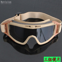Goggles riding eyewear sand lens cs sports protective goggles outdoor products windproof mirror