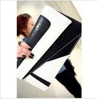 Free shipping Wholesale&retail 2013 hot sales new female star handbag leather bags bump color the brand day clutches