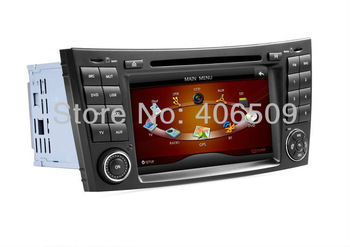 In Dash Car DVD Player for Mercedes Benz W211 / CLS W219 CLS350, CLS500, CLS550 with GPS Nav Bluetooth TV Map Radio Stereo Audio