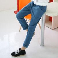 Women's vintage slim all-match skinny pants harem pants harem pants casual pants plus size