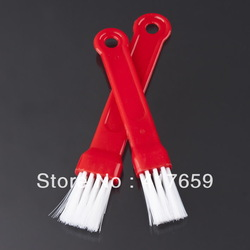 10set/lot 2pcs/set Progressive Barbecue Red Basting BBQ Brush Topper for kitchen outdoor use easy to carry out(China (Mainland))