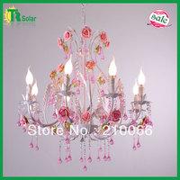 Free Shiping E14*8 Lighting Modern Wrought Iron Lighting Chandelier Lamp for living room, dinner room,  bedroom& study room