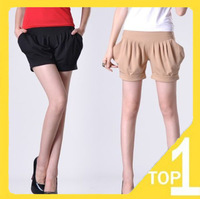 Free shipping Wholesale new 2013 fashion slim casual summer Pleated Women's harem shorts hot pants (3.19)