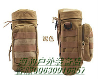 High quality nylon material_Molle design a variety of color_ tactical plug-in package beverage package