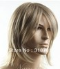 2013 New Man's short Blonde straight Synthetic hair wig Man's Best Choice free shipping