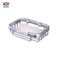 Gweat space aluminum bathroom accessories space aluminum soap network soap box soap holder soap box