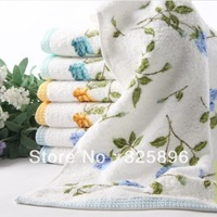 24pcs/set Free shipping 100% cotton Face towel,wedding gift towel lovers towel hand towel wash househould textile