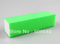 Free Shipping  Green Buffer Block Acrylic Nail Art Care Accessories Sanding Files Tool 100 pcs 4 Ways High Quality Wholesale 483
