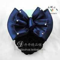 Wave blue 6 bow hairpin hair accessory hair accessory
