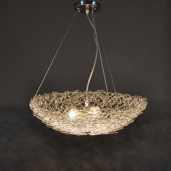 Modern dining room pendant light bar lamp fashion bird nest lighting mld012(China (Mainland))
