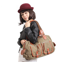 free shipping   2013 new fashion canvas motorcycle bag  casual ladies'shoulder bag  sling bag