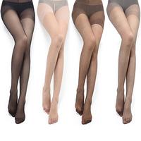 Sexy ultra-thin Core-spun Yarn fun stockings female temptation to open file pantyhose