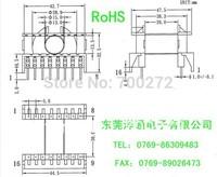 ETD39 transformer ferrite  core +  BOBBIN 8+8pin