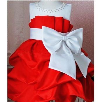 NEW Arrival 2013 children dress girls High-grade Princess dress chiffon Big bowknot dresses for summer 2pcs/lot size 100-110