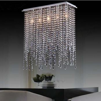 modern crystal chandelier lighting,crystal drop pendant lamp for dining room/wedding