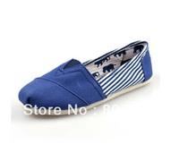 Wholesale 5 pairs Stripe Canvas Shoes  Women Men's Unisex shoes  Classic  Casual Sneaker