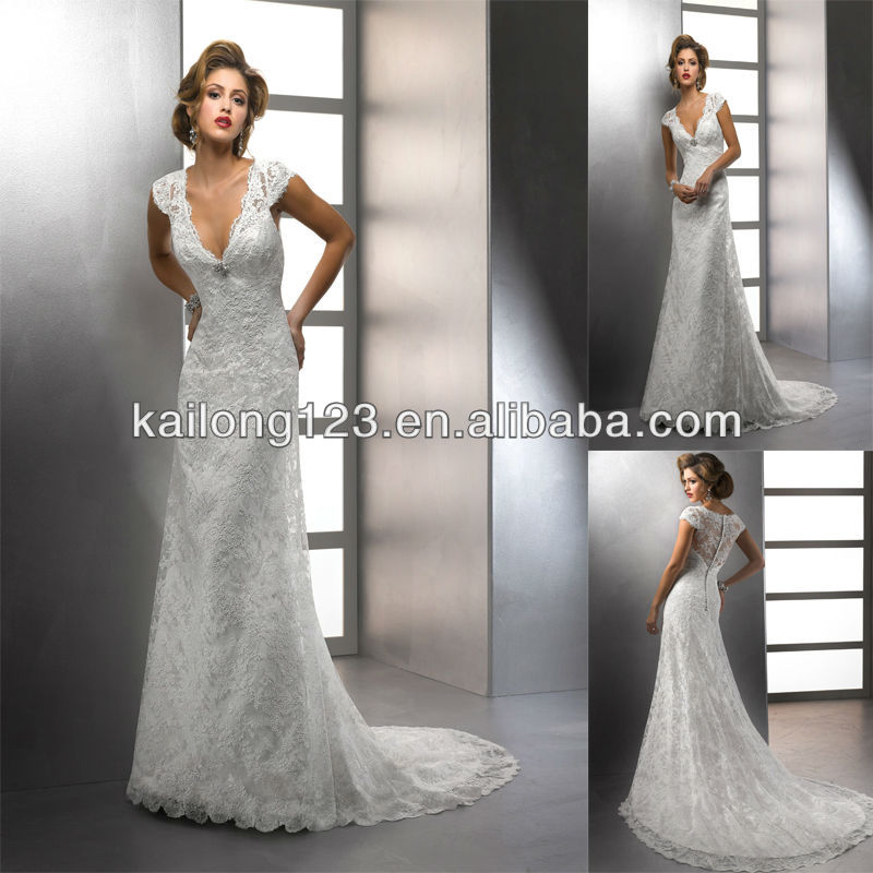 Wedding Dresses Straight Line