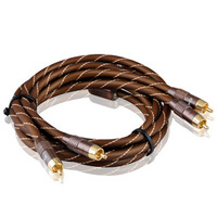 Akihabara q-845 high-fidelity audio cable audio cable double lotus line 1.5 meters