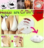 Magic Pad Push Breast UP Bra Insert Enhancer Raise Cup Inflatable New x 1Pair