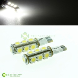 T10 13-smd 5050 LED Fast Strobe Flash White Lights Combination tail Width lamp(China (Mainland))