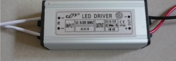 1pcs resell 3 series 3 parallel constant current waterproof  integrated power supply 10W 900MA 6-12V led light driver