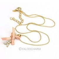HOT SALE! Free shipping New Stylish Elegance Wild Bow Bowknot Butterfly Eiffel Tower Necklace have stock 60159