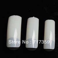 1set FREESHIPPING 500 Natural French Nail Tips False Acrylic Nail Art Tips Dropshipping 600268