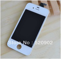 Original OEM Genuine Assembly LCD Display Screen+Touch screen Digitizer For  iPhone 4 4G ,White and black,  CDMA Only