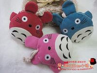 2013Totoro fabric key cover thermal cloth card holder key wallet choula key wallet female cloth bag