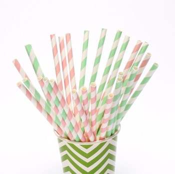 Free Shipping 200pcs/lot  151colors  Chevron Striped and Polka Dot Drinking Paper Straws