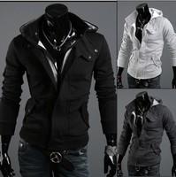 Assassin's Creed Revelations Desmond Miles Cosplay Costume Hoodie Jacket