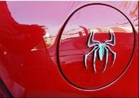 wholesale good price New Metal electrofacing 3D spider Car sticker spider sticker car body sticker