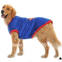 4XL New Arrival Blue Big Size Pet Dogs T-shirt  Vest Free Shipping Clothing For Dog Dogs vest