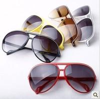 2012 new fashion casual toad frame Ms. radiation sunglasses unisex sunglasses
