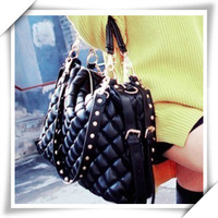 free shipping Bags 2012 women's handbag fashion vintage bag casual one shoulder cross-body bag big bags
