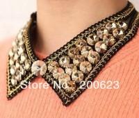 женщина золото ложных воротник шею Колье bib ожерелье коренастый цепи рок байкер панк